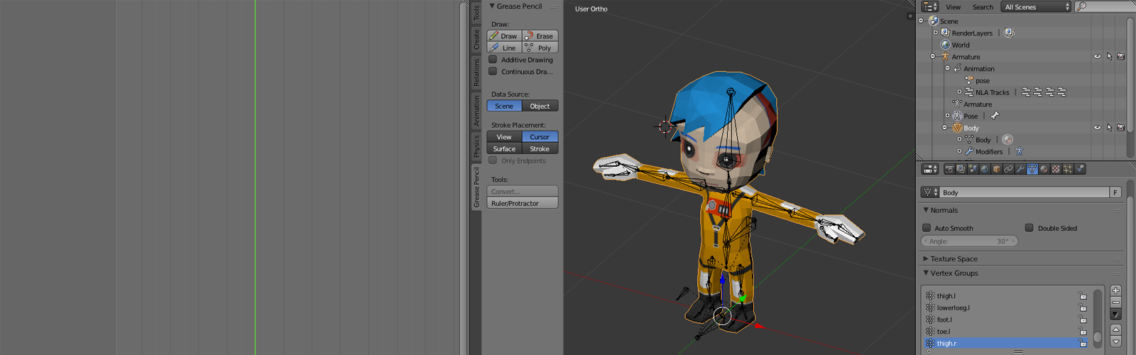 Multiple Animations For Unity3D - Animation and Rigging ...